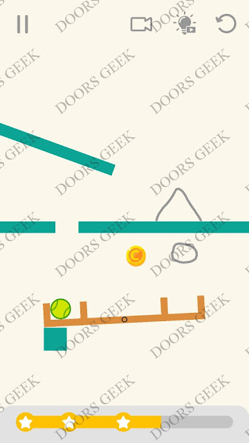 Draw Lines Level 38 Solution, Cheats, Walkthrough 3 Stars for Android and iOS