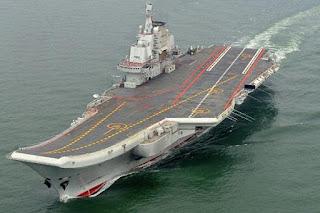 Waw .. China Sebut  Kapal Induk Pertamanya Sudah Siap Perang - Commando