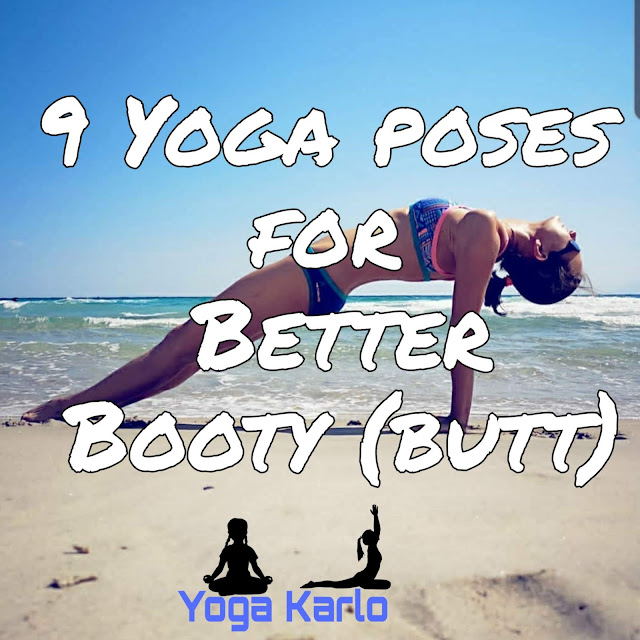 Yoga poses for better booty