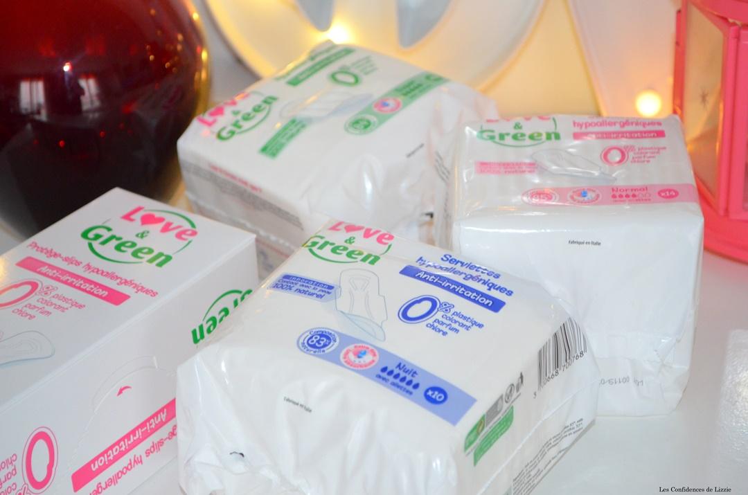 serviettes hygeniques naturelle - bio - tampons - marque naturelle