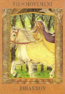 Goddess Tarot - Rhiannon