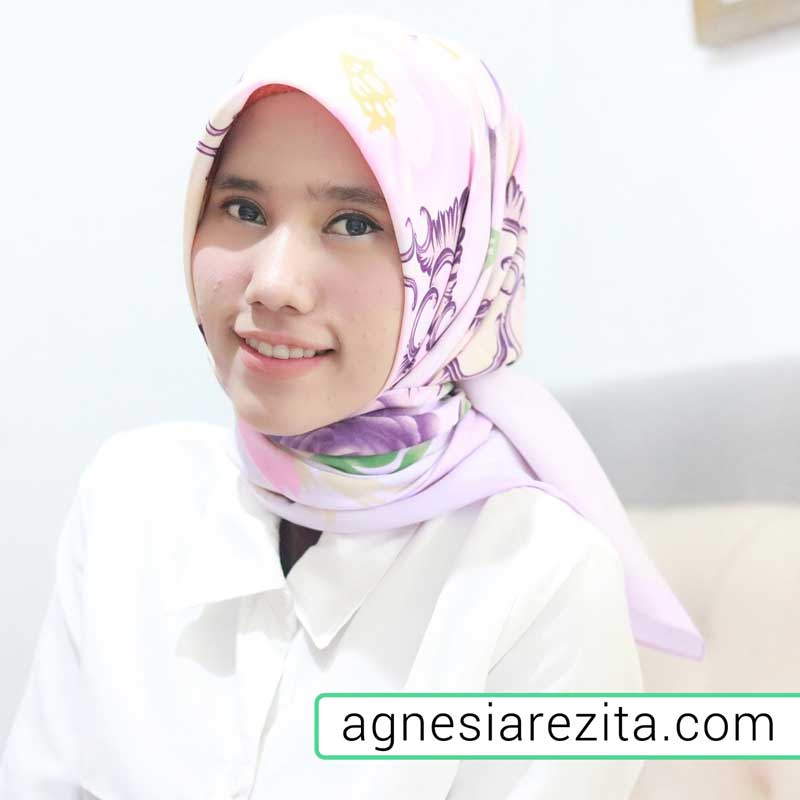 beauty blogger agnesia rezita
