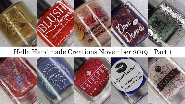 Hella Handmade Creations November 2019 | Part 1