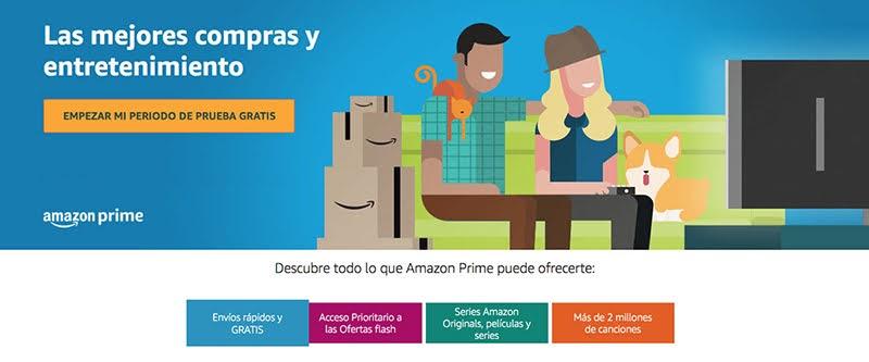 Prueba Gratis AMAZON PRIME 30 Días.