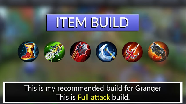 Mobile Legends Granger Best Build