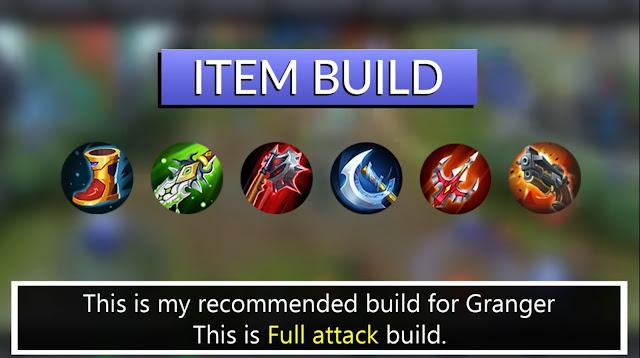 Mobile Legends Granger Best Build