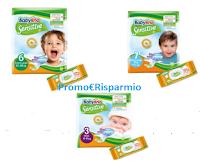 Logo Babylino Sensitive : un piccolo contributo per confezione prova (pacco pannolini e pacco salviettine)
