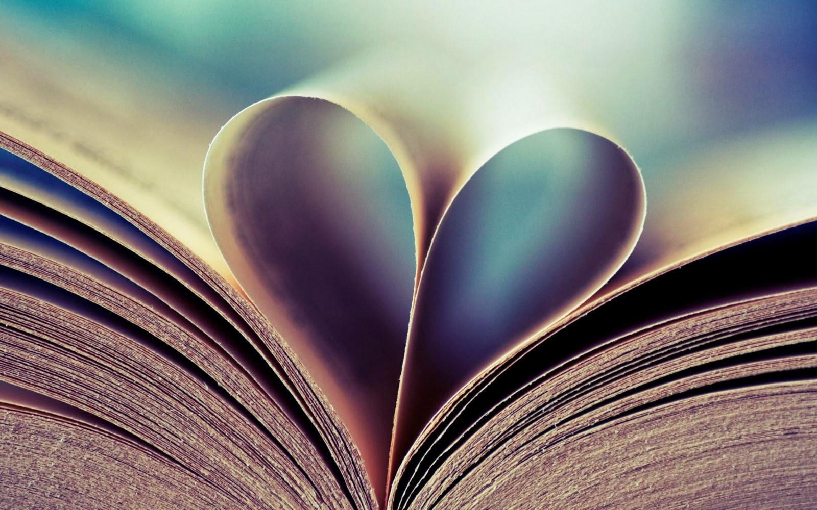 wallpapers: Heart Book Wallpapers