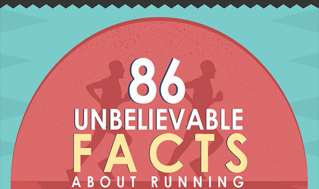 86 Unbelievable Facts About Running #infographic