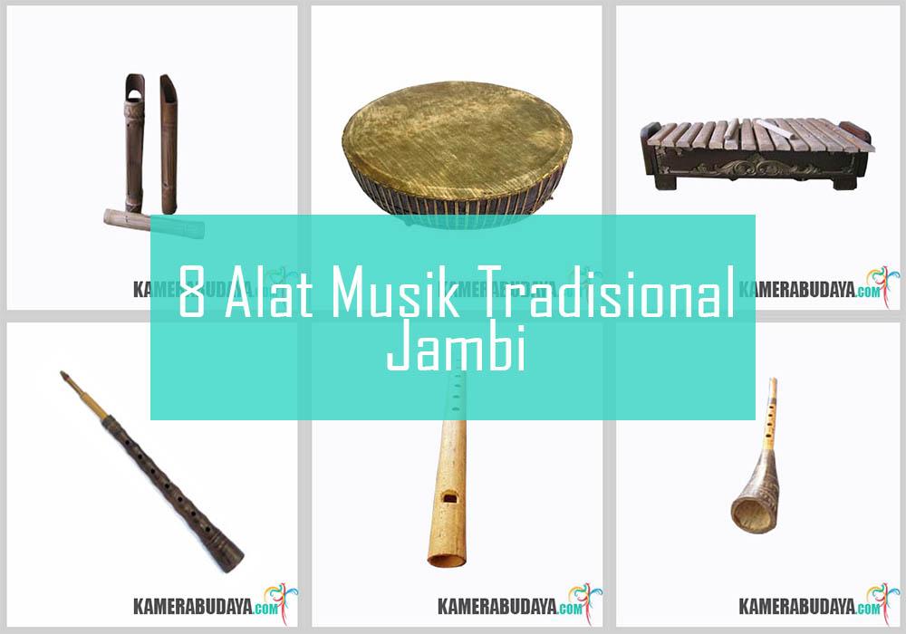 Inilah 8 Alat Musik Tradisional Dari Jambi