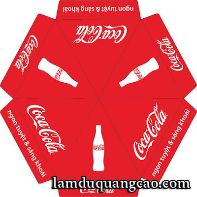 dù quảng cáo,dù cafe,dù coca cola,umbrella cocacola