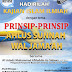 Hadirilah Kajian Islam Ilmiyah Prinsip-Prinsip Ahlusunnah Waljamaah
