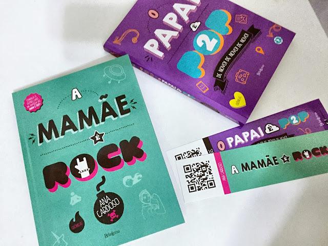 [Resenha] A mamãe é Rock | Ana Carsoso @belasletras