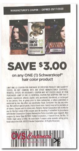 Schwarzkopf Simply coupon save $3