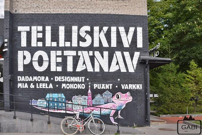 Telliskivi, czyli talliński street art