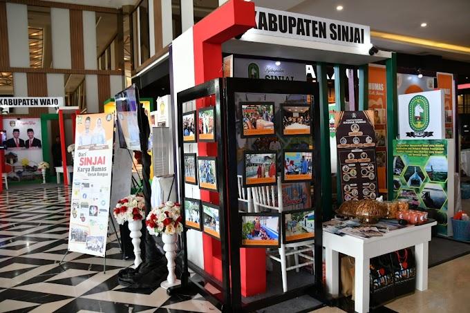 Di Humas Expo, Sinjai Perkenalkan Sejumlah Ivonasi Daerah