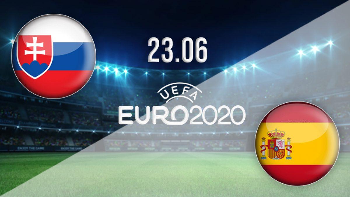 بث مباشر مباراة اسبانيا وسلوفاكيا