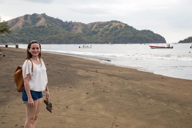 Paseando por playas del Coco