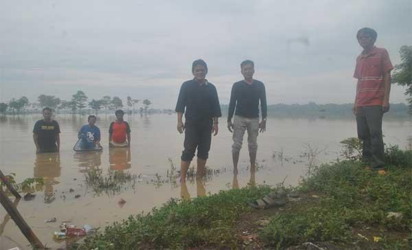 tiga kelurahan di majalengka minta pemda atasi banjir