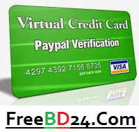 Get Free Working Virtual Credit Card (VCC) in Minutes