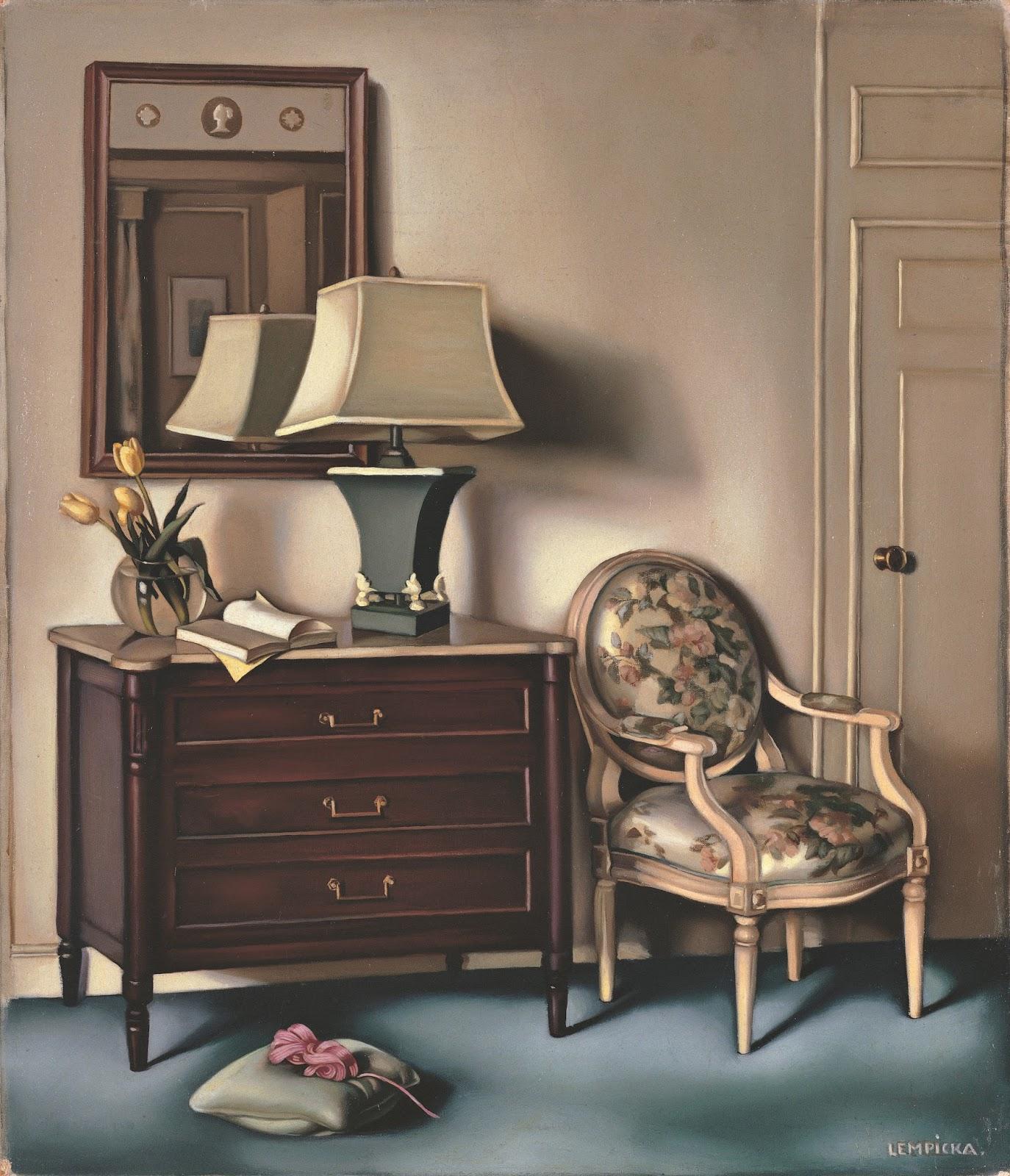 Tamara  de  Lempicka C  Chambre  d hotel C    ca