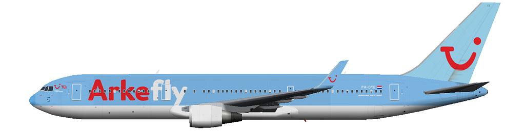 kaese2002.de: Arkefly Boeing 767-300 winglets