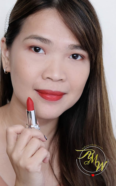 a photo of Dior Rouge matte 999 review by Nikki Tiu of askmewhats.com