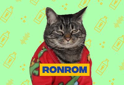 O que é o ronrom e porque os gatos ronronam?