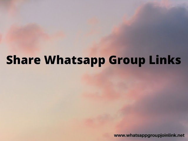 Share Whatsapp Group Link