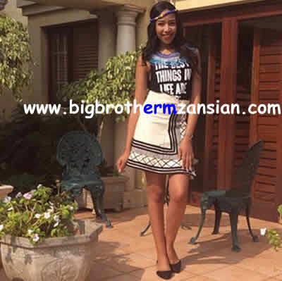 BBMzansi 2015 Blue Mbombo Latest photos