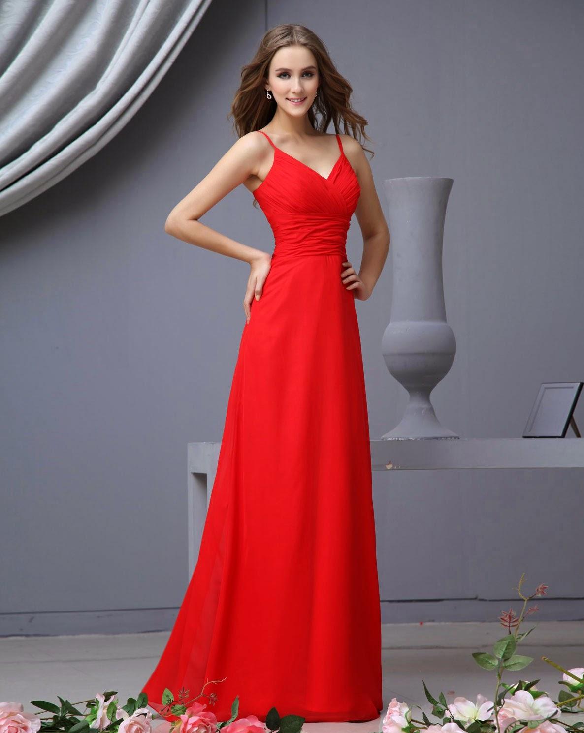 Red Wedding Dresses Simple Elegant Design Ideas