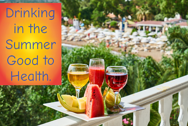 What kind of water when drinking in the summer will be good for health?
