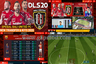 DLS Mod Bali United New Transfer & Kits 2020/2021