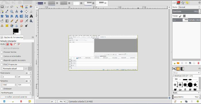 tratamento de imagens e fotos com o gimp para ubuntu ou linux