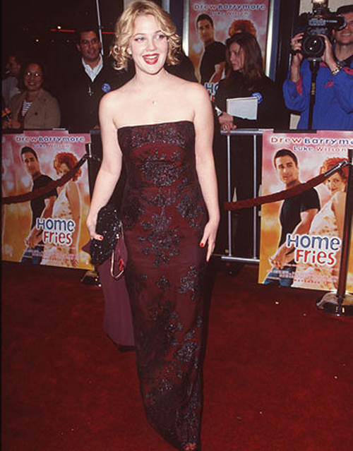 Drew barrymore wet clothes are certainly