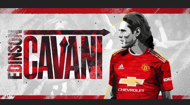 RESMI: Manchester United Datangkan Edinson Cavani