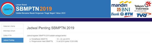 Pendaftaran Online SBMPTN