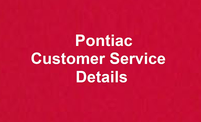 Pontiac Customer Service Number