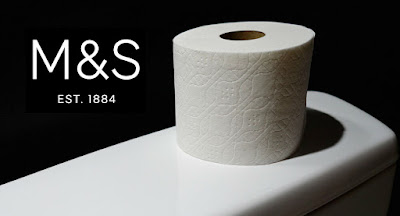 marks and spencer toilet roll photo