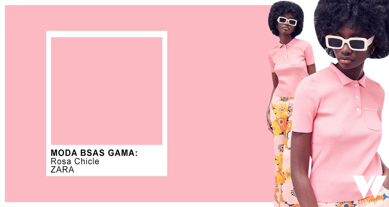 Colores 2022 moda verano 2022 rosa