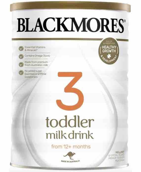 Blackmores 3 Toddler Milk Drink 900g - Sửa cho trẻ trên 12 tháng tuổi