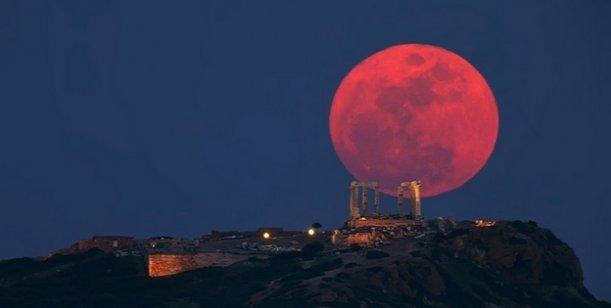 Tres trucos para sacar las mejores fotos de la Luna de Sangre que se podrá ver el domingo 0001980586
