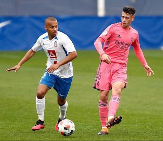 Aplazado el Real Madrid Castilla-Rayo Majadahonda.