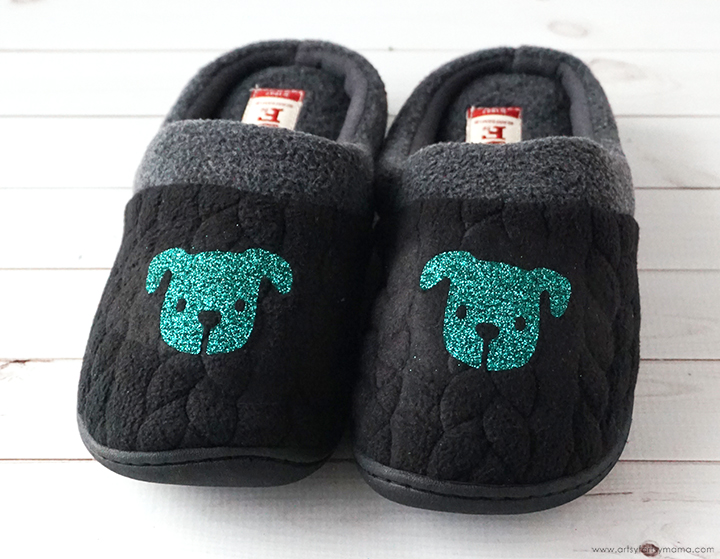 Personalized Christmas Eve Slippers