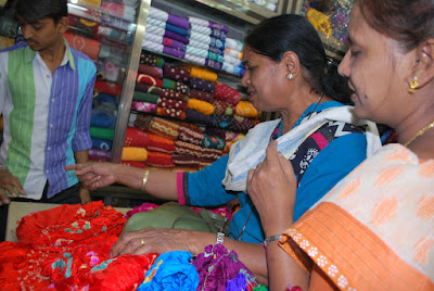 Shopping spree at Rajkot
