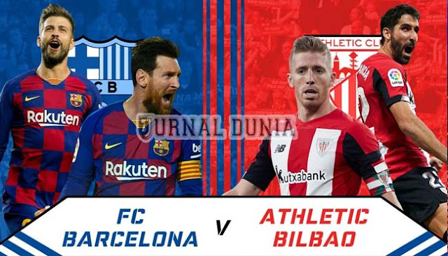Prediksi Barcelona vs Athletic Bilbao , Senin 01 Febuary 2021 Pukul 03:00 WIB @ beIN Sports