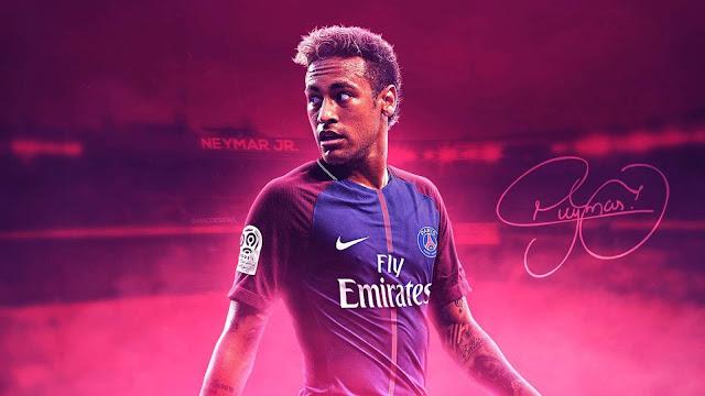 Foto de Neymar para Papel de Parede