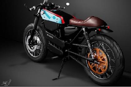 Bosen Tampilan Tongkrongan Motor Kurang Mentereng, Ini Loh Model Modifikasi Motor Tren 2019