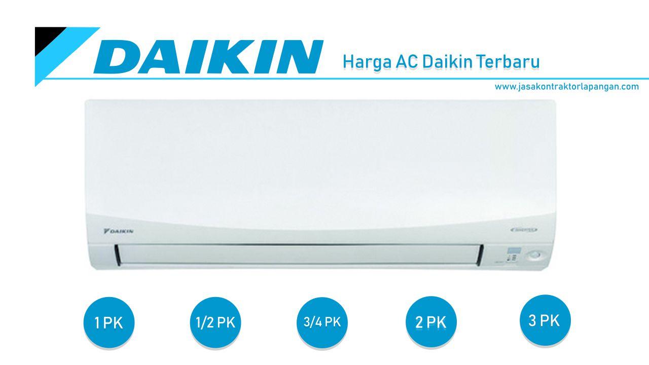 Daftar Harga AC Daikin