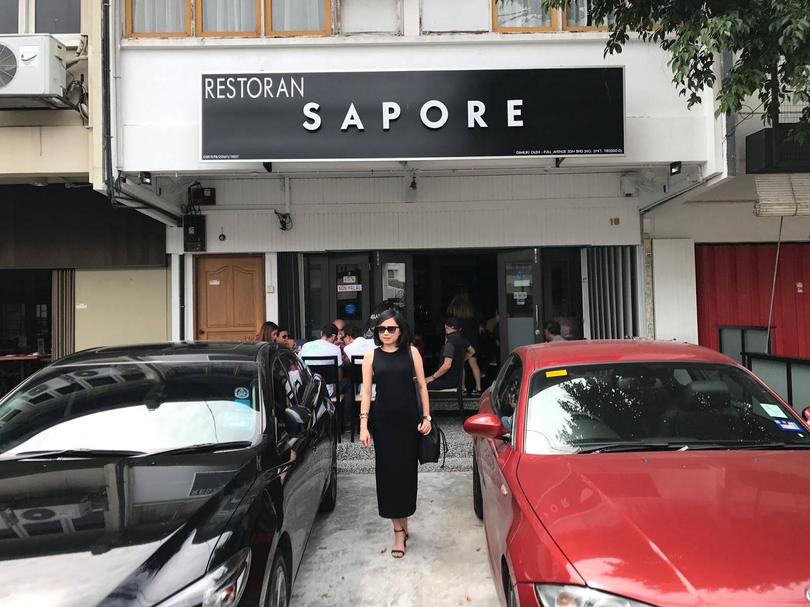 Sapore Restaurant - New Spanish & Italian Food @ Persiaran Ampang, Kuala Lumpur